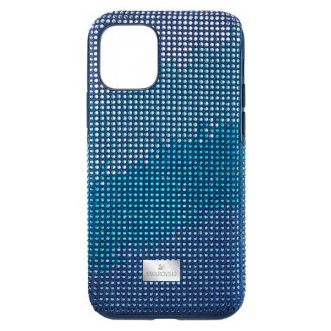 Etui na smartfona Crystalgram z ramką chroniącą przed uderzeniem, iPhone® 11 Pro, niebieskie Swarovski