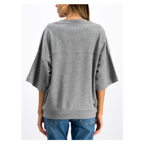 Versace Jeans Bluza B6HTB777 Szary Regular Fit