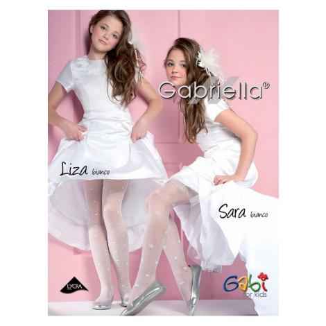 Piżama dziewczęca 759 Liza white Gabriella