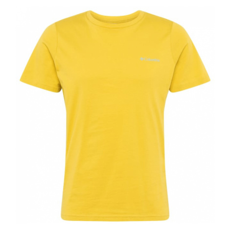 COLUMBIA Koszulka funkcyjna żółty