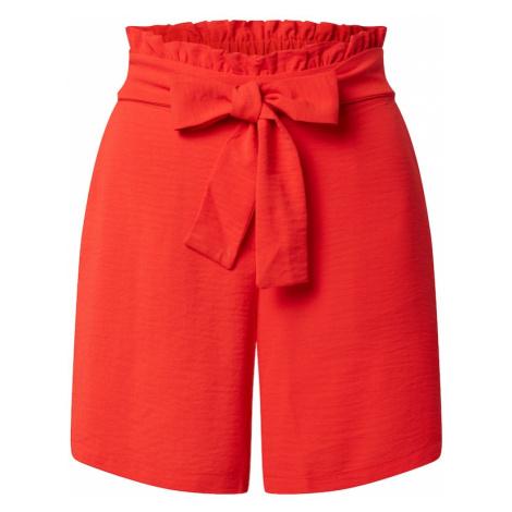VILA Spodnie 'RASHA' czerwony