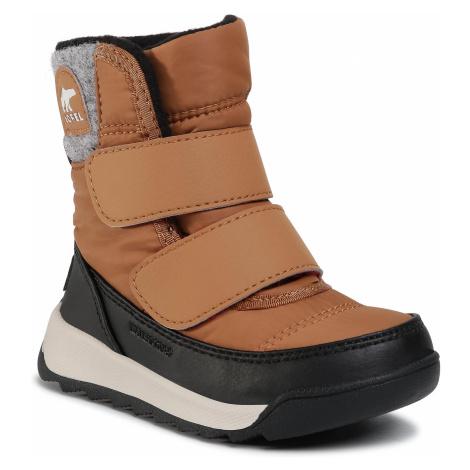 Śniegowce SOREL - Childrens Whitney II Strap NC3874 Elk 286