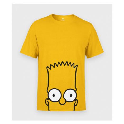 Koszulka męska Yellow face