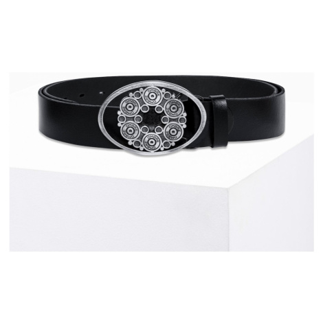 Ombre Clothing Men's leather belt A259