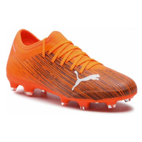 Puma Buty Ultra 3.1 Fg/Ag 106086 01 Pomarańczowy