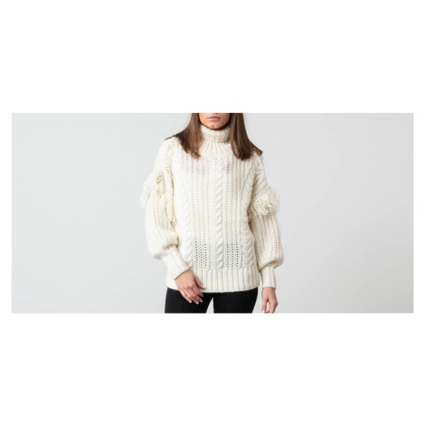 SELECTED Lina Knit Roll Neck Birch