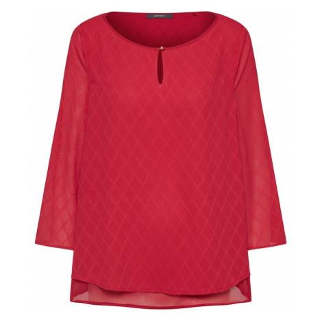 Esprit Collection Bluzka wiśniowo-czerwony