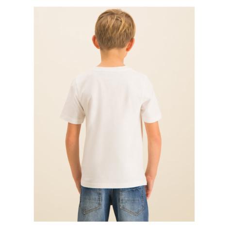 Timberland T-Shirt T25P12 Biały Regular Fit