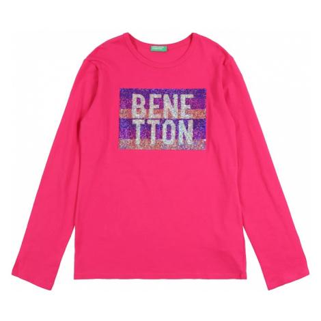 UNITED COLORS OF BENETTON Koszulka różowy