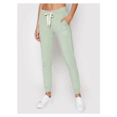 Femi Stories Spodnie dresowe D-Vano Zielony Regular Fit