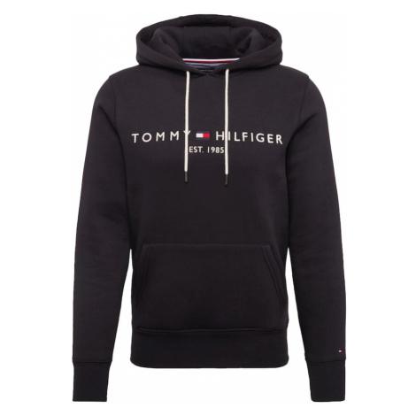TOMMY HILFIGER Bluzka sportowa czarny / biały
