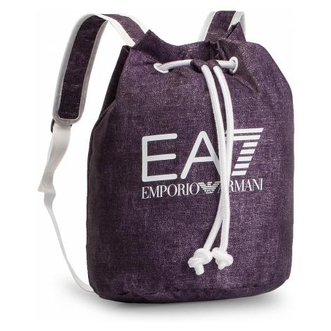 Plecak EA7 EMPORIO ARMANI - 285586 9P809 48835 Fluo Blue