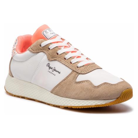 Sneakersy PEPE JEANS - Koko Sweet PLS30843 Off White 803
