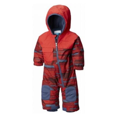 COLUMBIA kombinezon zimowy dziecięcy Hot-Tot Suit Red Spark Geo Print 12/18