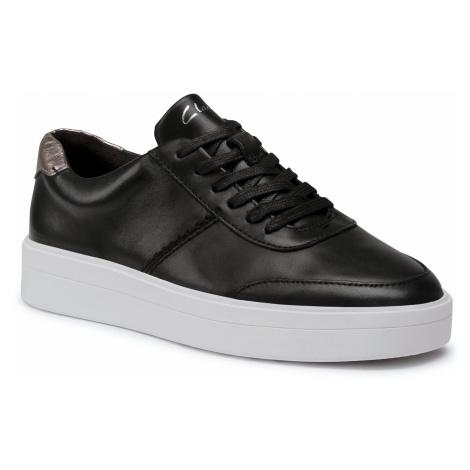 Sneakersy CLARKS - Hero Walk. 261511664 Black Combi