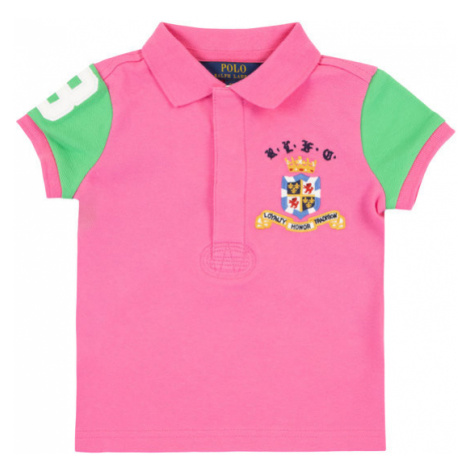 Polo Ralph Lauren Polo Spring II 313783930 Różowy Regular Fit