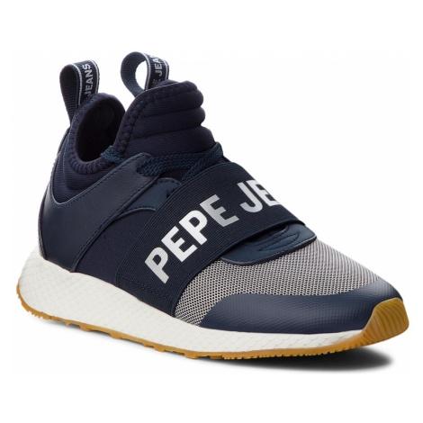 Sneakersy PEPE JEANS - Koko Logo PLS30741 Navy 595