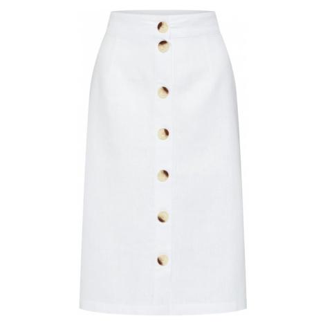 VERO MODA Spódnica 'MALLI' biały