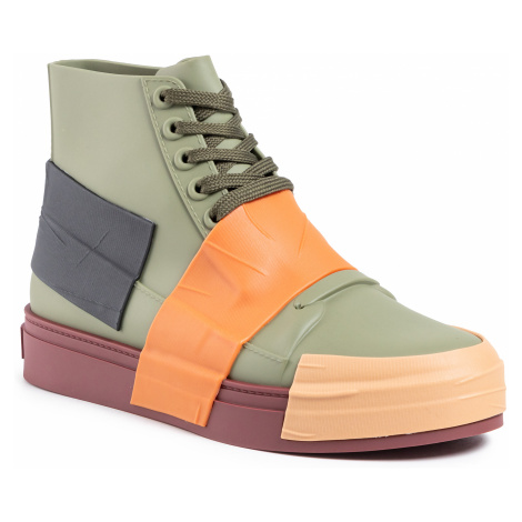 Sneakersy MELISSA - Crew Ad 32437 Green/Orange/Black 53588
