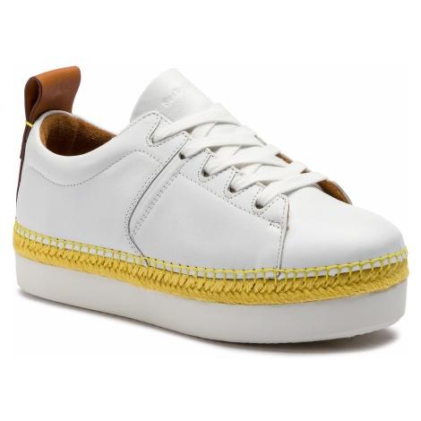 Espadryle SEE BY CHLOÉ - SB32210A Sneaker Calf 101 Bianco/Natural Calf 517 Chloé