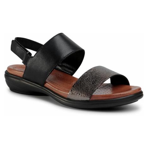 Sandały GO SOFT - WI16-957-05 Czarny