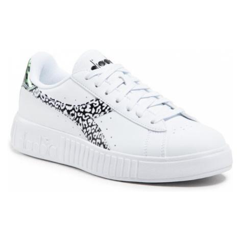 Diadora Sneakersy Game P Step Animalier 101.177332-C0351 Biały