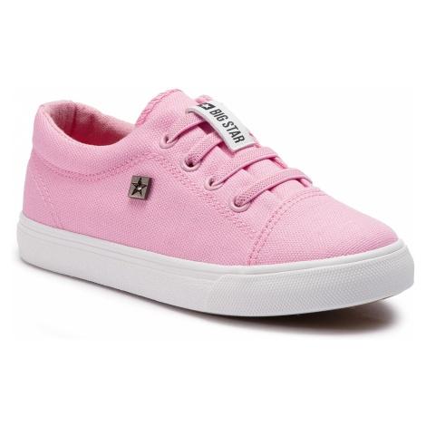 Sneakersy BIG STAR - DD374076 Pink