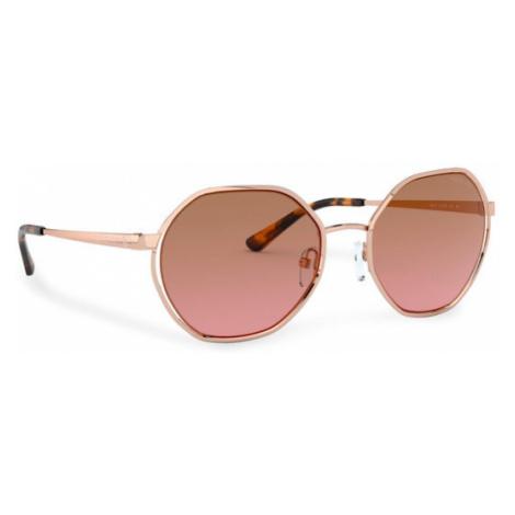 Michael Kors Okulary przeciwsłoneczne Porto 0MK1072 110814 Złoty