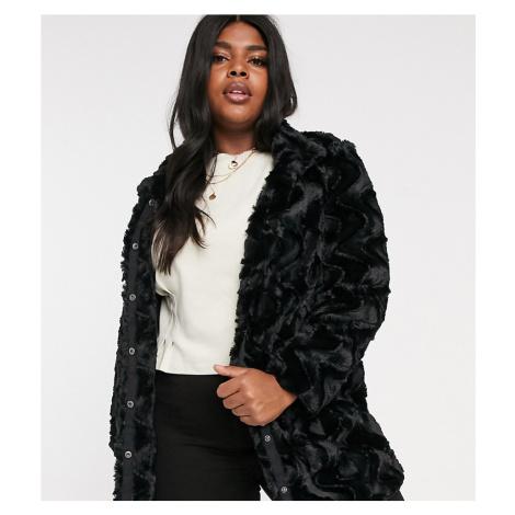Vero Moda Curve faux fur jacket