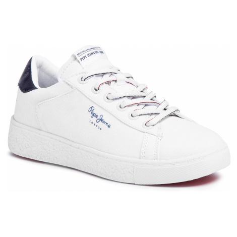 Sneakersy PEPE JEANS - Roxy Summer20 PLS30955 White 800