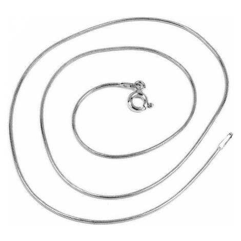 Silvego Srebra łańcuch wąż 1 mm 5060-09BG (długość 38 cm) srebro 925/1000