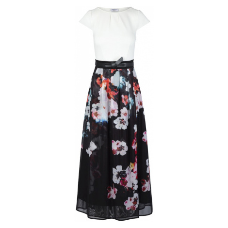 APART Sukienka kremowy / czarny