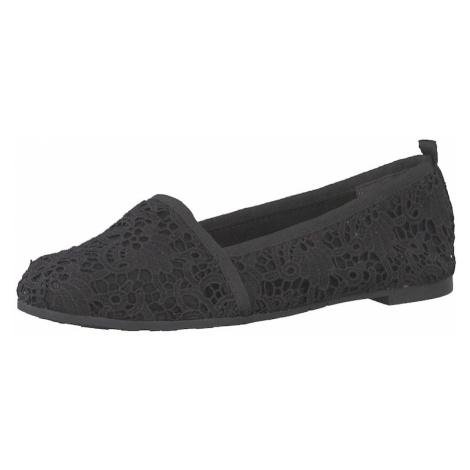 TAMARIS Pantofle czarny