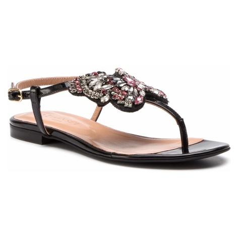 Sandały TWINSET - Sandalo 191TCP106 Nero 00006