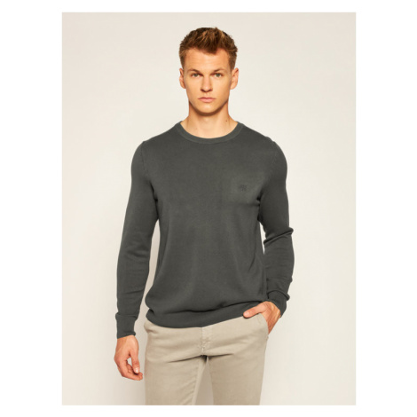 Marc O'Polo Sweter M27 5066 60398 Szary Regular Fit