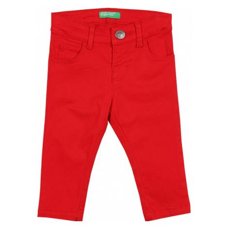 UNITED COLORS OF BENETTON Spodnie czerwony