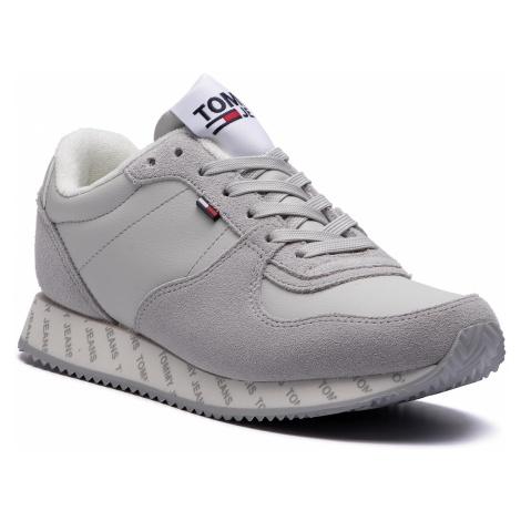 Sneakersy TOMMY JEANS - Casual Sneaker EN0EN00394 Dawn Blue 439 Tommy Hilfiger