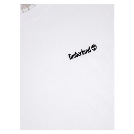 Timberland T-Shirt T45808 Biały Regular Fit