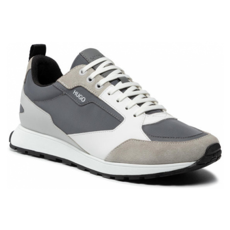 Hugo Sneakersy Icelin 50451740 10234982 01 Szary Hugo Boss