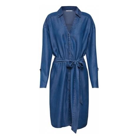 EDC BY ESPRIT Sukienka koszulowa 'ECOM' niebieski
