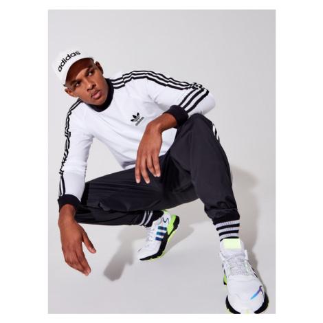Adidas Longsleeve Adicolor Classics 3-Stripes GN3477 Biały Slim Fit