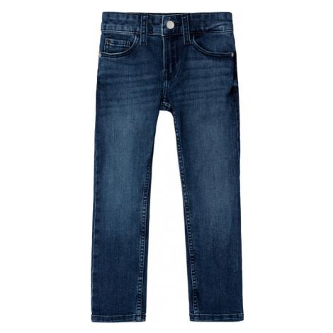 Calvin Klein Jeans Jeansy IB0IB00229 Granatowy Slim Fit