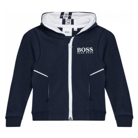 Boss Bluza J05M86 S Granatowy Regular Fit Hugo Boss
