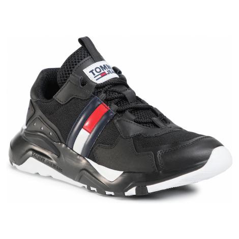 Sneakersy TOMMY JEANS - Cool Runner EM0EM00484 Black BDS Tommy Hilfiger