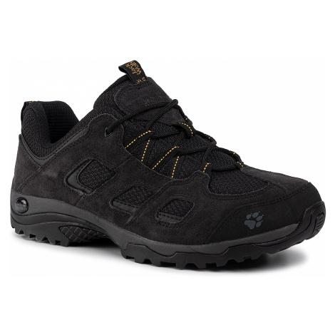 Trekkingi JACK WOLFSKIN - Vojo Hike 2 Low 2 4036731 Black/Burly Yellow Xt