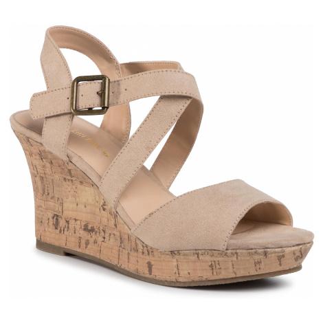 Sandały CLARA BARSON - WYL2048-2 Beige