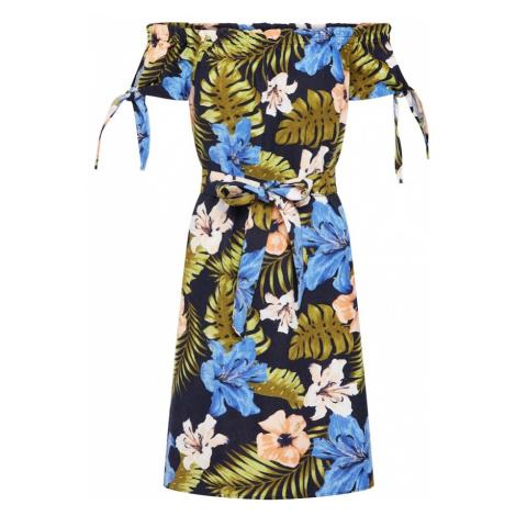 VERO MODA Letnia sukienka 'EFIE MILO' niebieska noc / mieszane kolory