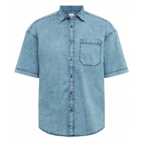EDC BY ESPRIT Koszula niebieski denim