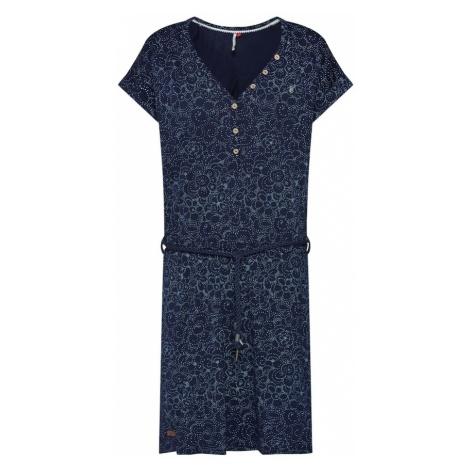 Ragwear Sukienka 'Brita' granatowy / jasnoniebieski