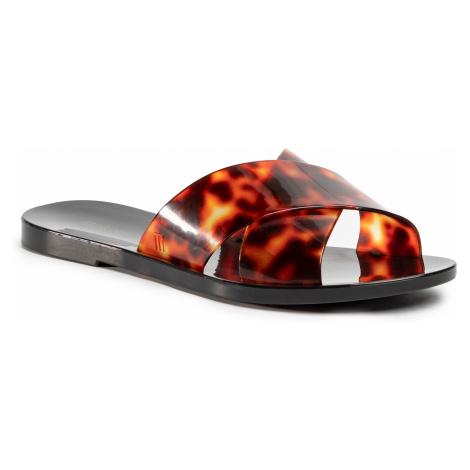 Klapki MELISSA - Essential Slide Ad 32755 Black/Tortoise 52812